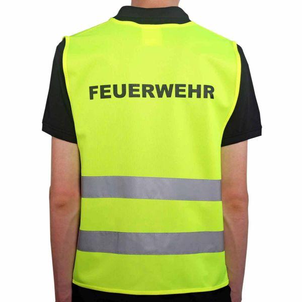 Qualitäts-Warnweste Premium Feuerwehr
