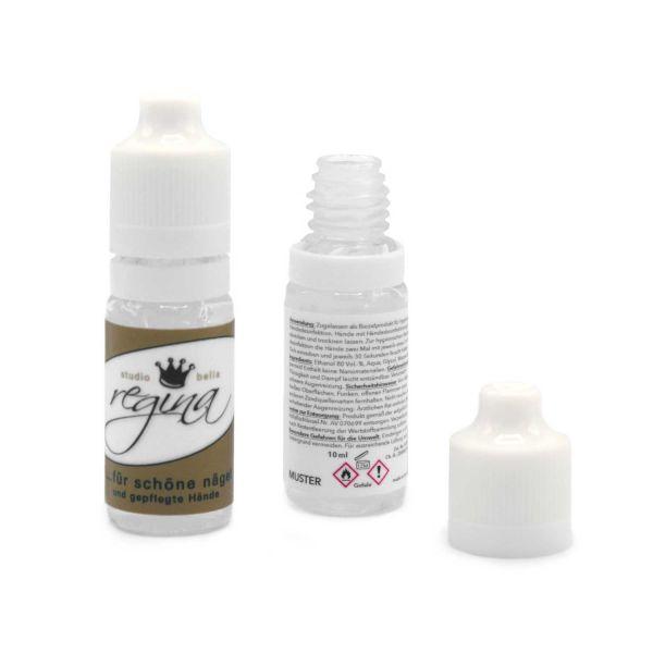 Hände-Desinfektion Gel/Fluid 10 ml | 4c Label