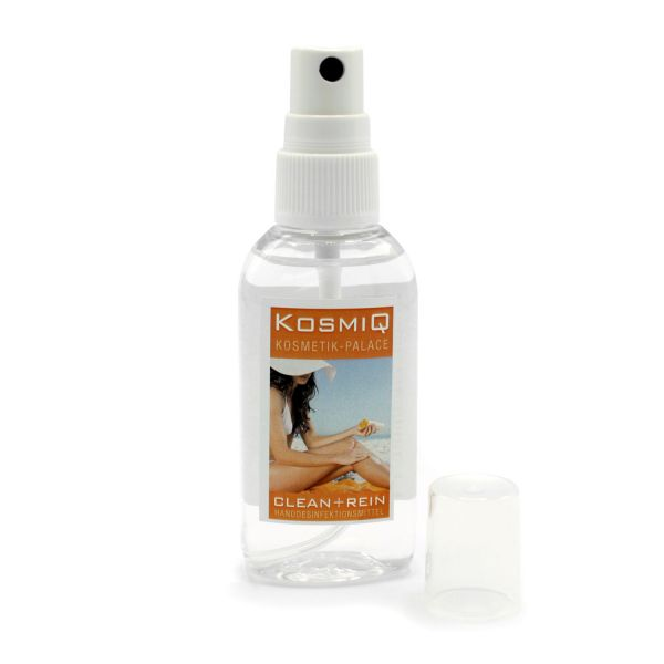 Hände-Desinfektionsmittel Mini o. Maxi Spray | individuelles Label