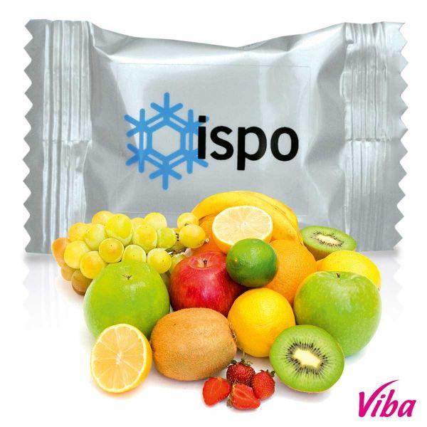 Fruchtschnitte Multifrucht 10 g mit Folienetikett 10 g