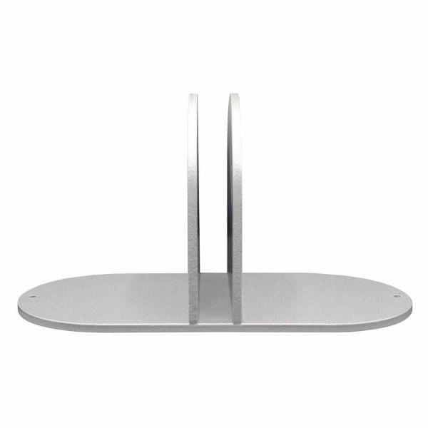 Standfuß/Verbinder Metall für Plattenstärke 2,5cm