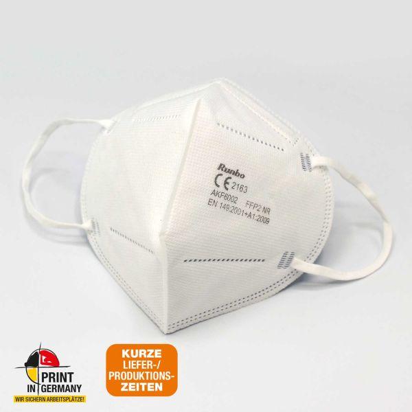 FFP2 NR Maske | Sofort lieferbar | einzeln verpackt in 20er Box