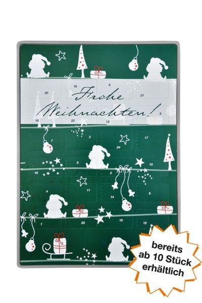 """Adventskalender Easy """"Geschenke grün"""" ab 10 Stk."""
