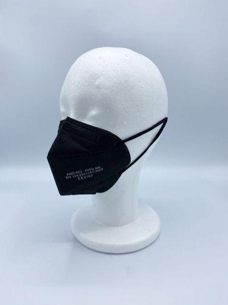 FFP2-Maske schwarz   EN 149:2001+A1:2009