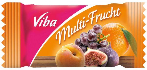 Fruchtschnitte mit Banderole 10 g | Multifrucht