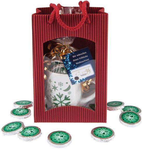 Weihnachtspräsent Glossy grün 120g | neutral