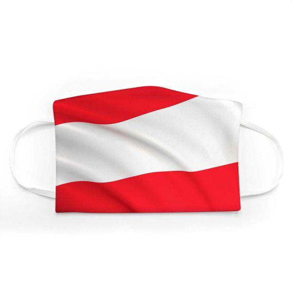 Community Mund - Maske Fahne Österreich Adult + Kids