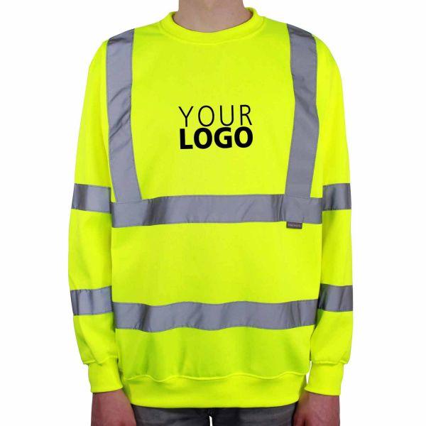 Warnschutz-Sweatshirt Safe Touch