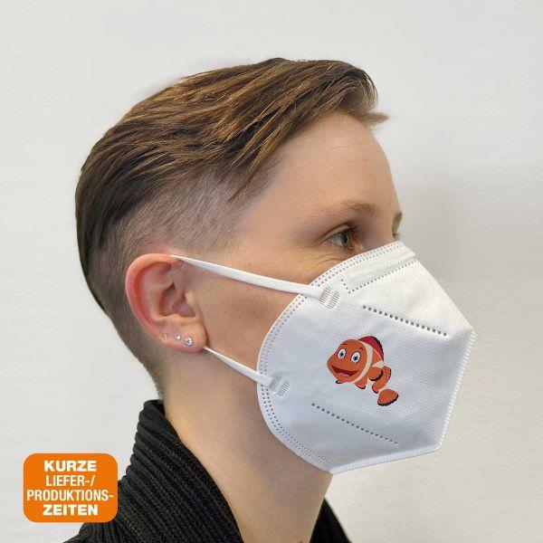 Mund-/Nasenbedeckung | FFP2 Print Full Colour | CE2163