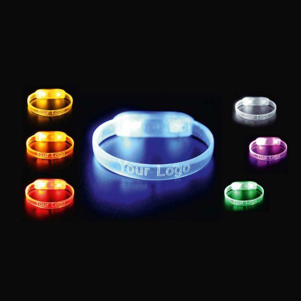 LED-Armband Multi Colour | mehrfarbig leuchtend