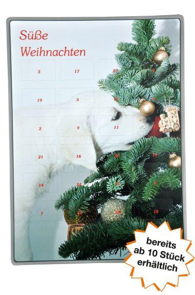"""Adventskalender Easy """"Hund mit Tanne"""" ab 10 Stk."""