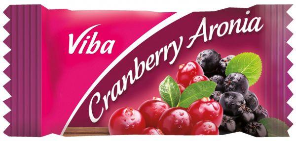 Fruchtschnitte mit Banderole 10 g | Cranberry Aronia Vegan