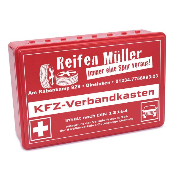 Kfz-Verbandkasten Case individuelles Motiv