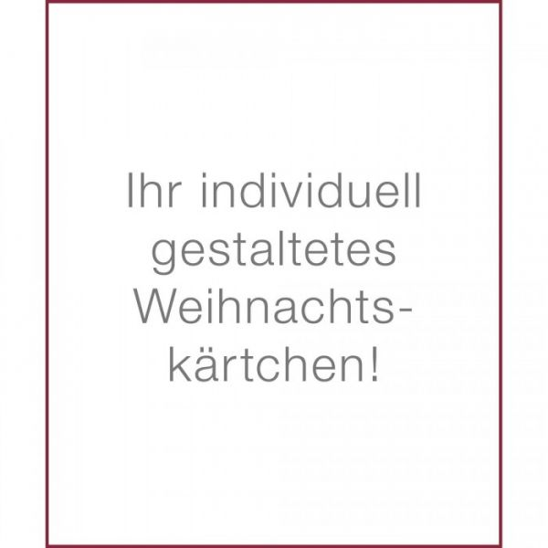 Organzasäckchen Lindt Duo | mit Grußkarte